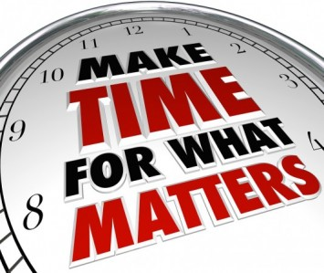 make time for what matters image